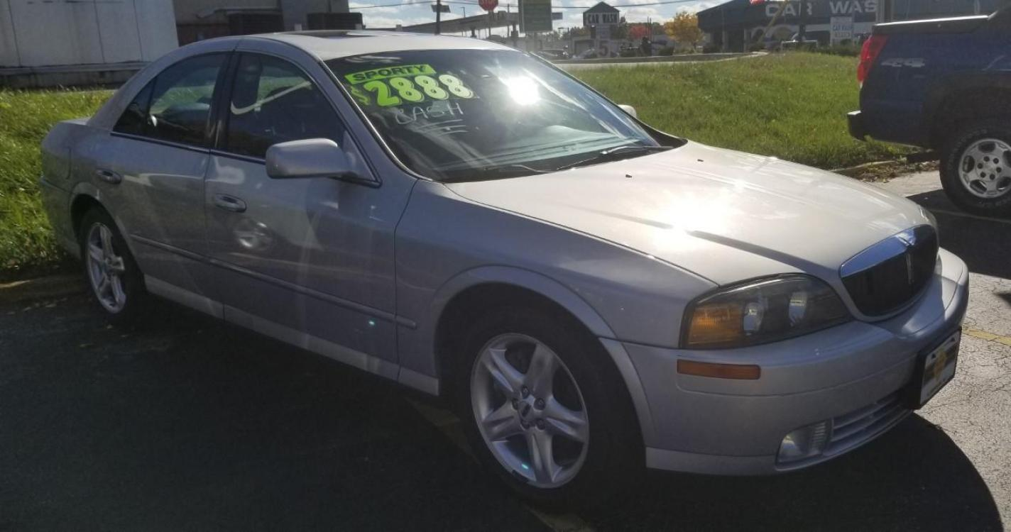 2002 Silver Lincoln LS (1LNHM87A62Y) with an 3L NA V8 double overhead cam (DOHC) 32V engine, 5-Speed Automatic transmission, located at 341 N White Horse Pike, Lawnside, NJ, 08045, (888) -696, 39.855621, -75.027451 - Photo #0